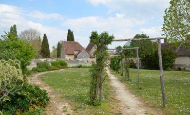 Les jardins et la chapelle Saint Gilles